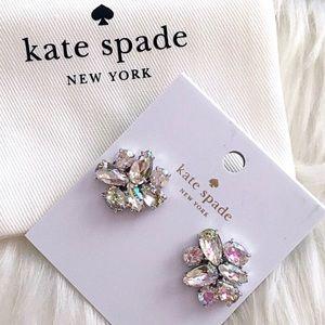 NWT KATE SPADE New York Cluster Crystal Earrings